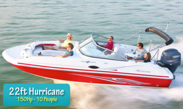 Boat Fleet Hurricane 217