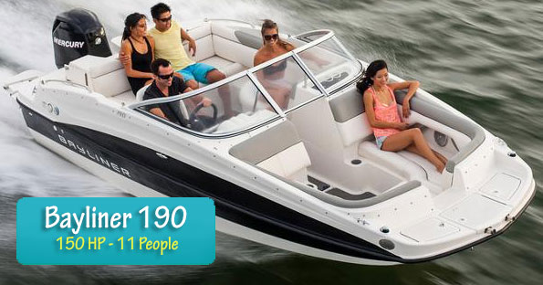 Boat Fleet bayliner capri