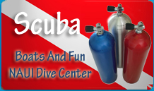 scuba naui dive shop