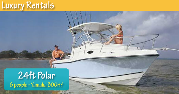 Polar 24ft Boat
